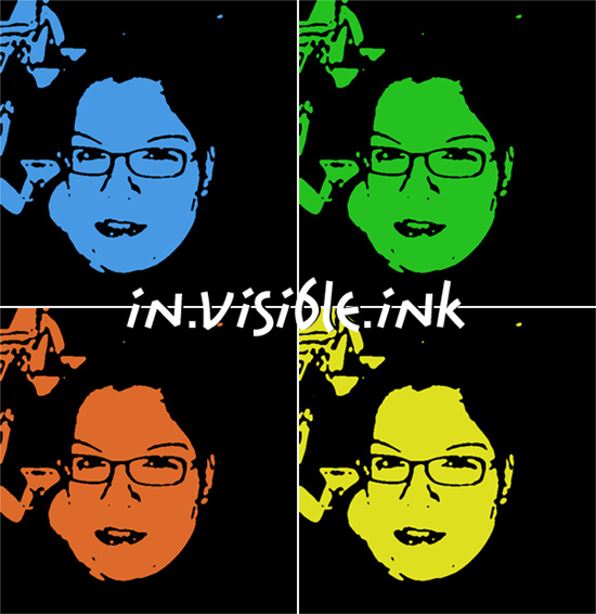 in visible ink - michaela a. gabriel